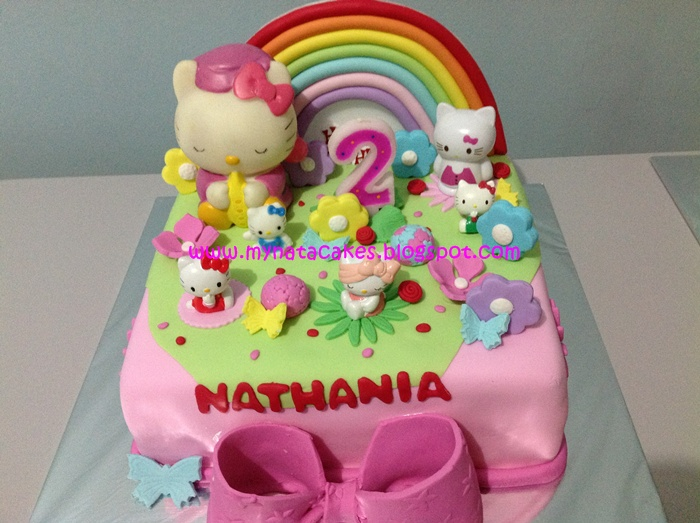 Mynata Cakes Hello Kitty Birthday Cake For Nathania