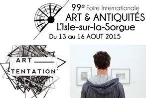ART TENTATION À L'ISLE-SUR-LA-SORGUE