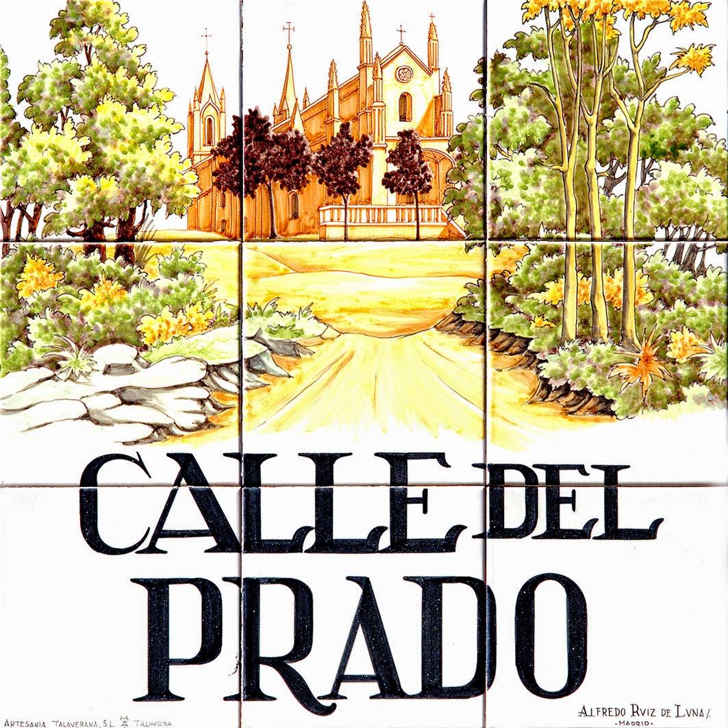Por las calles de madrid calles calle del prado for Hoteles en la calle prado de madrid
