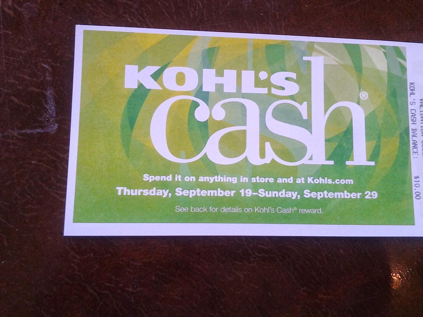My Trash to Kohl's Cash Trade!   Loudoun County Limbo
