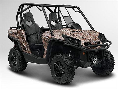 2012 Can-Am Commander 800R XT ATV pictures. 480x360 pixels