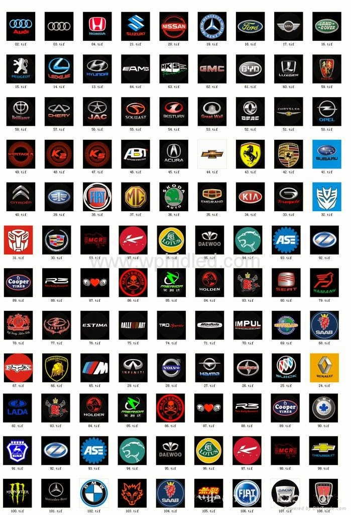 Cars UPG: Car Logos Pictures