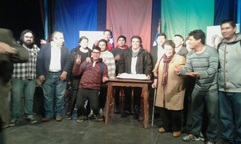Con la asistencia del presidente del CNTV y del alcalde de Quilicura celebramos  9  años al aire
