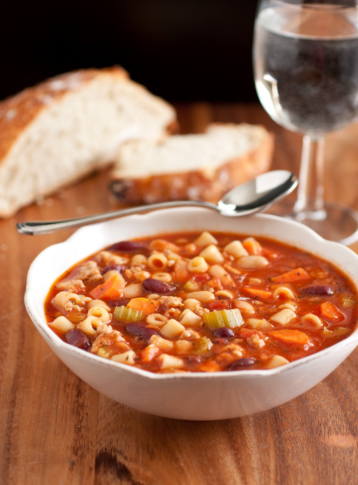 cooking: Olive Garden Pasta e Fagioli Soup Copycat Recipe
