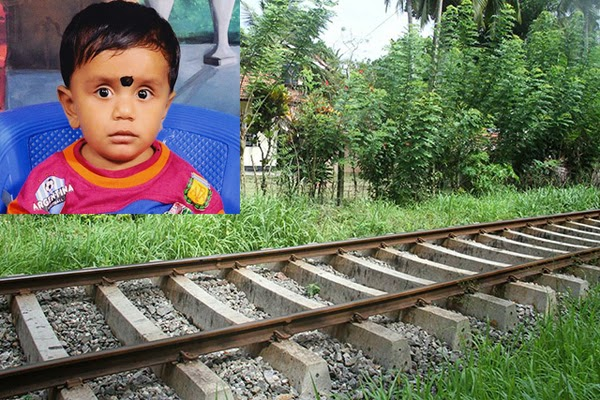 One and half year toddler meets with accidental death
