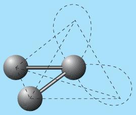 Bentuk molekul BeCl3