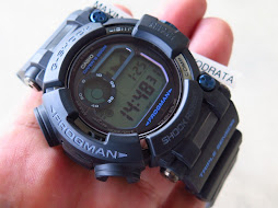 CASIO G-SHOCK FROGMAN GWF-D1000-B BLACK TRIPLE SENSOR - TOUGH SOLAR - BRAND NEW