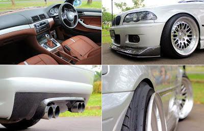 Modification BMW 323i e46 2000