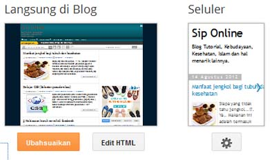 Edit HTMLK blogspot