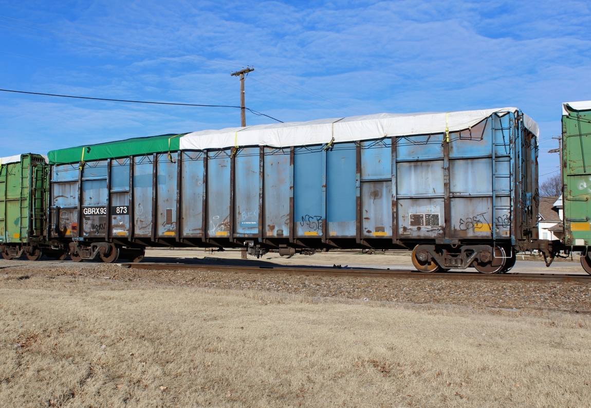 North Jersey Lines: Repainted - weathered C&D (Trash) cars - Part 2