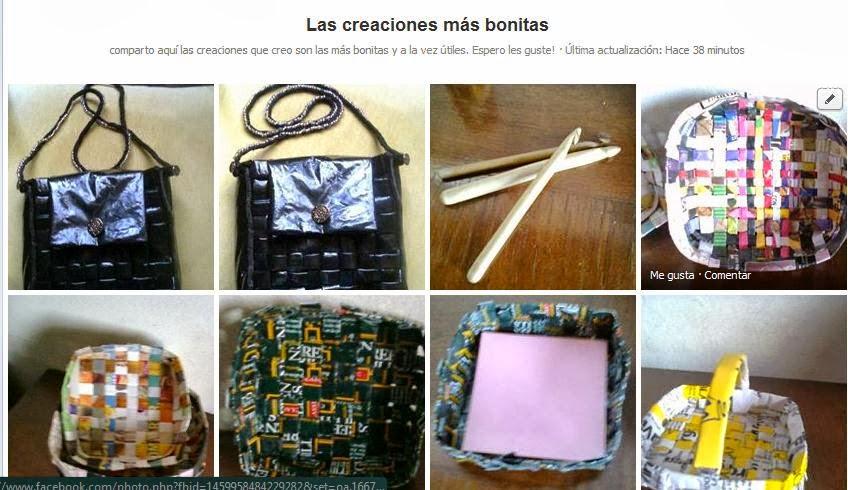 A&R , Arte y reciclaje en nuestras manos-Grupo en Facebook