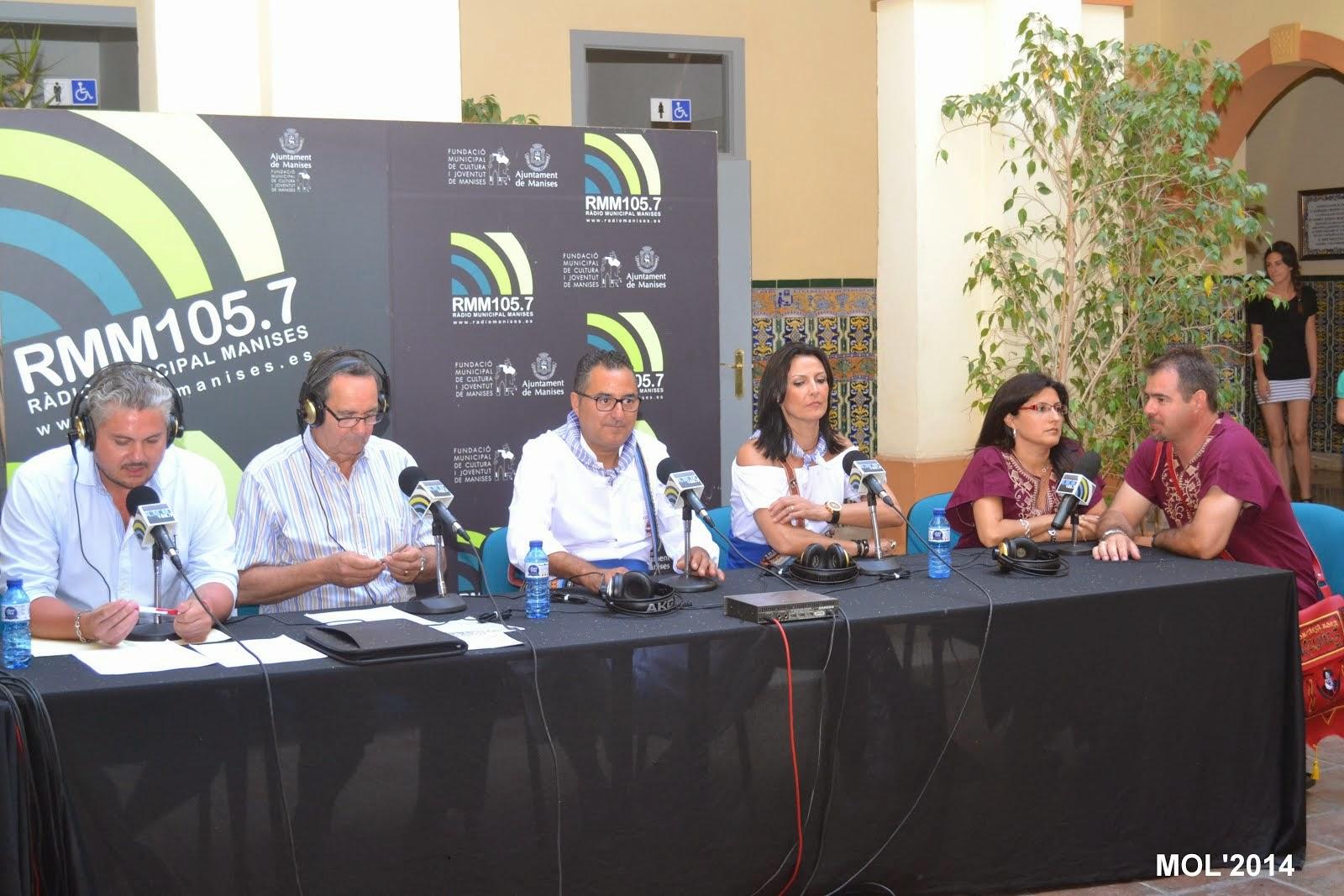 PROGRAMA ESPECIAL DE FOC I FESTA SOBRE LES FESTES DE MANISES 2014