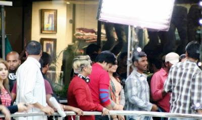 pavan kalyan latest movie working stills