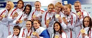 Russia - European Champion Women, Zagreb 2010