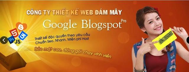 dịch vụ seo blogspot, thiết kế templates blogspot