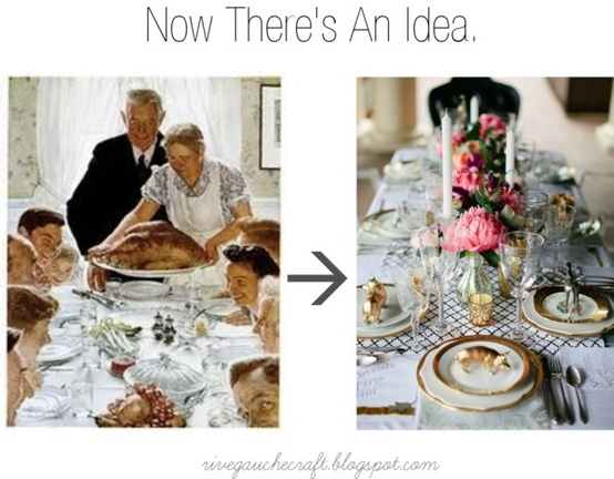 From Traditional to whimsical table settings 