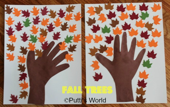 Fall Trees Kids Crafts