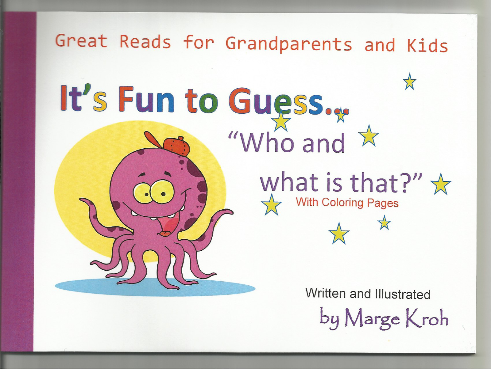 """Who and what is that?"" w/ added coloring pages Book 2"