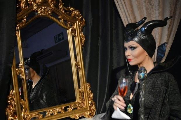 Solange Almeida uses Maleficent costume to celebrate 40 years
