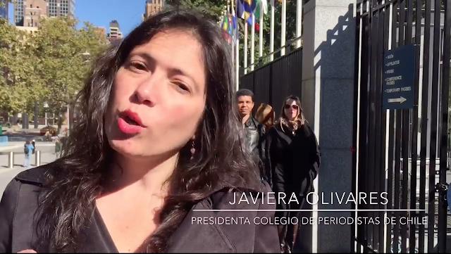 [VIDEO] Presidenta Colegio de Periodistas en la CIDH denunciando condena de cárcel a directores de medio chileno