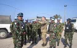 Pasukan UNIFIL Indonesia Ikuti Latihan di Perbatasan Lebanon-Israel