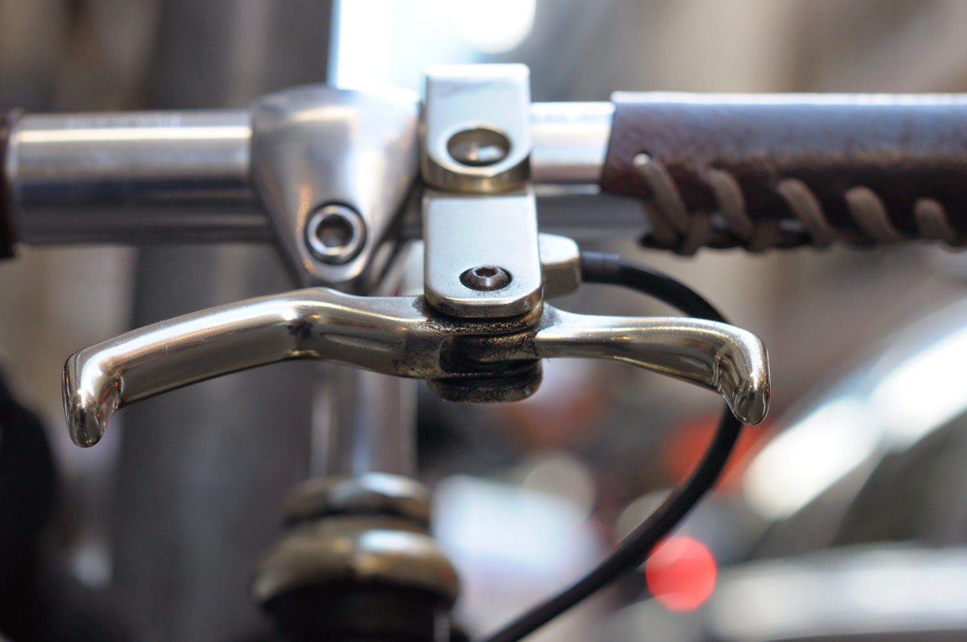 Bespoke, customisation, conversion, frame, Melbourne, Australia, tim macauley, the biketorialist, single speed, custom, flinders lane, bike, bicycle,  brake lever, brake, front brake