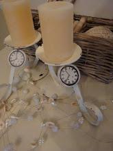 Clock Charm Candleholders