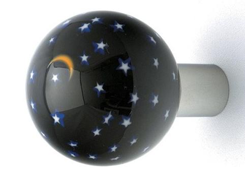 Decorating hardware decorative glass door knobs art glass doorknobs
