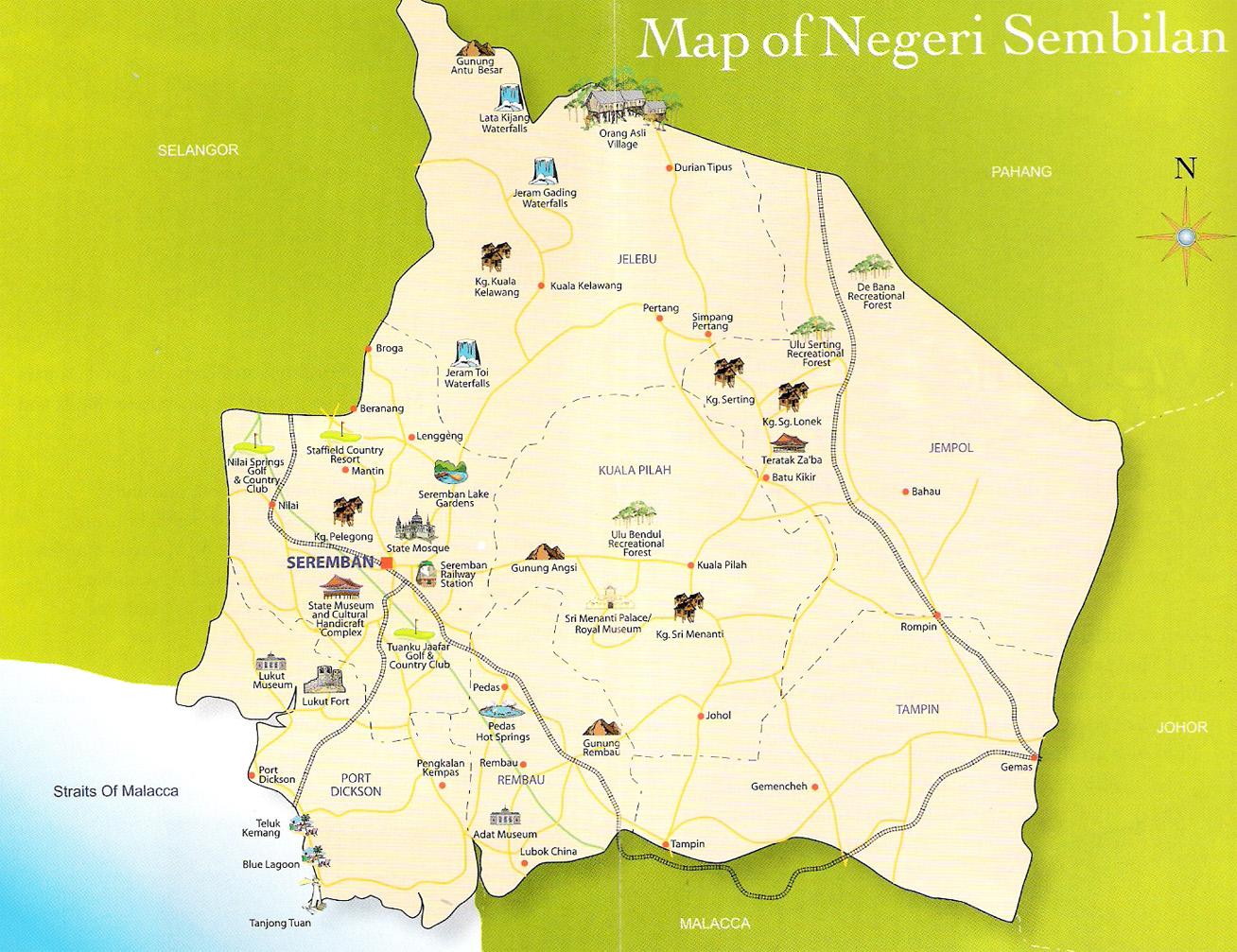 Peta Negeri Di Malaysia - JIWAROSAK.COM