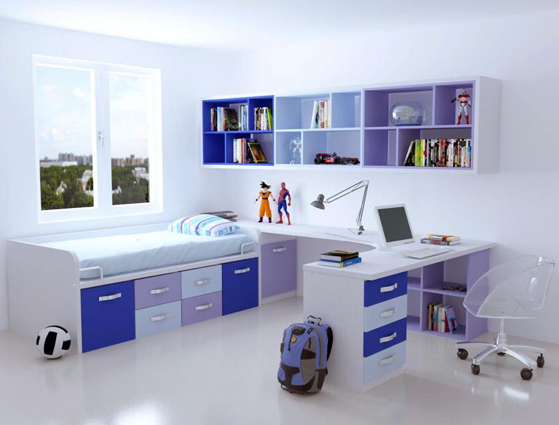 Dormitorio ni o for Habitacion para 2 ninos