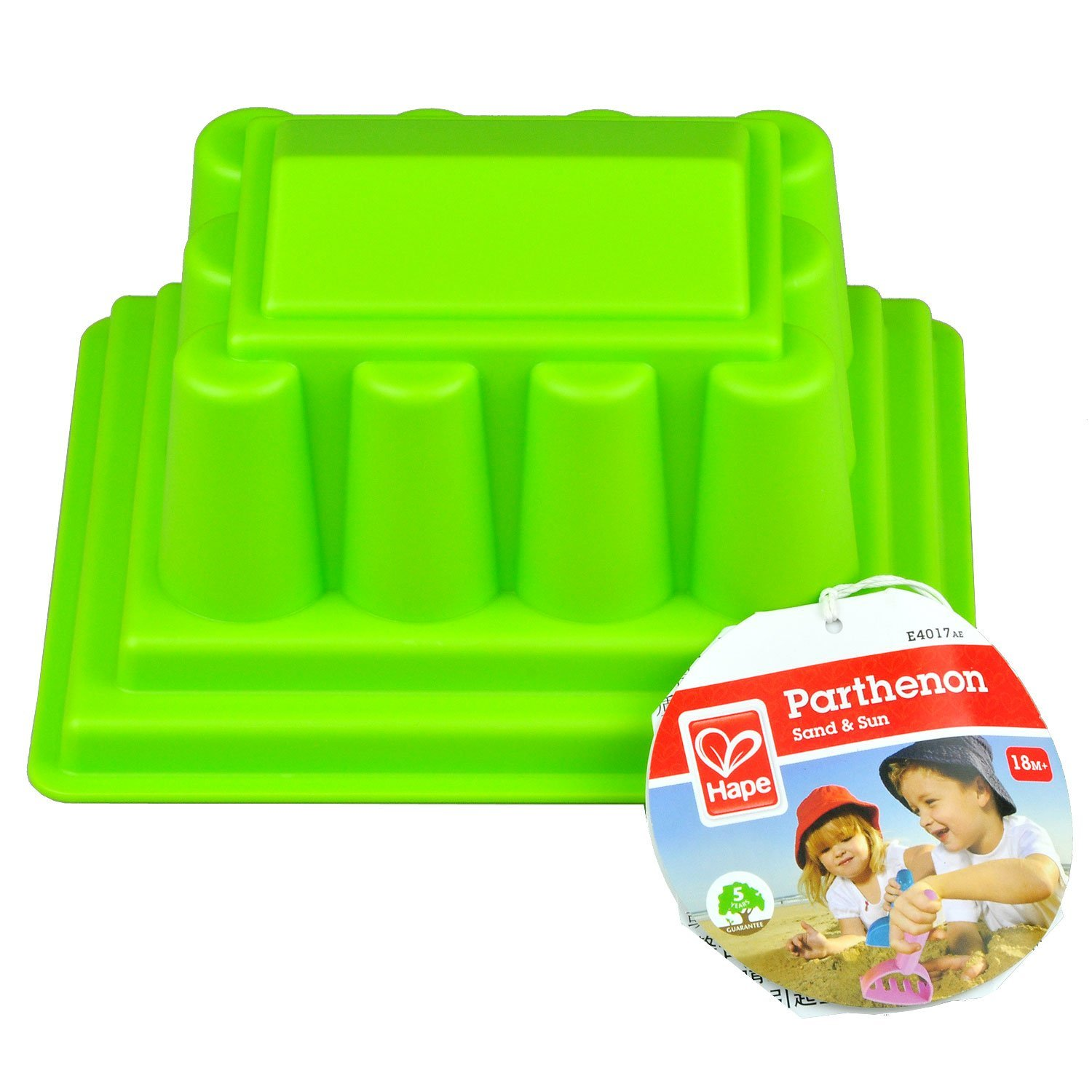 Hape Toys Parthenon Sand Mold | Citrus Lane May Box: Look at the Loot