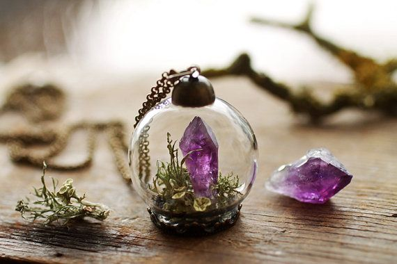 Mini Terrarium Necklace