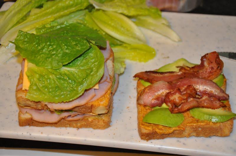 Elizabeth Ann's Recipe Box: Killer Club Sandwich