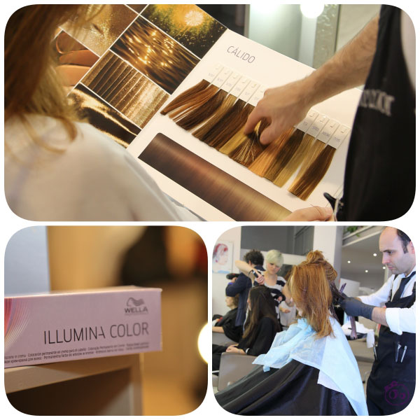 color tinte personalizado wella illumina en mode madrid