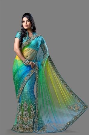 Designer-Bridal-Lehenga-Saree