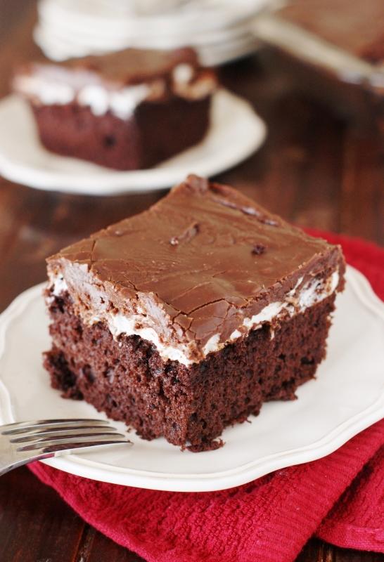 Chocolate Pudding Cake Market Day