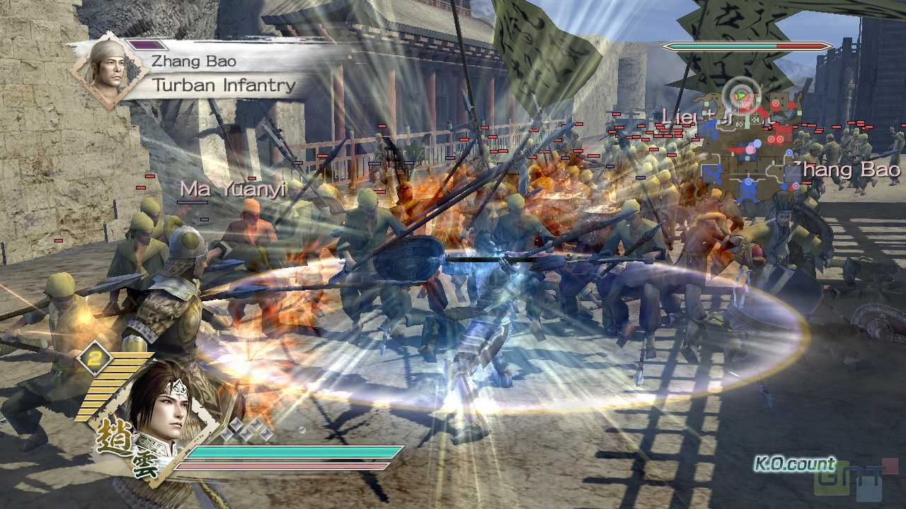 Overview Dynasty Warriors 7