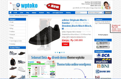 WP-Toko Wordpress Theme