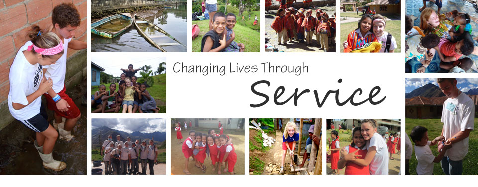 Changing Lives Through Service