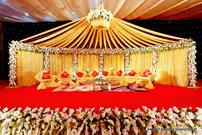 Bengali wedding guide double wedding ceremony stage design double wedding ceremony stage design junglespirit Images
