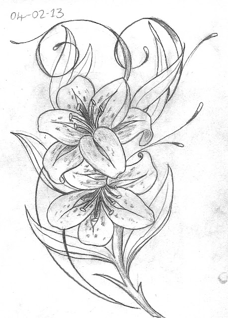 Tattoo Sketch A Day February 2013