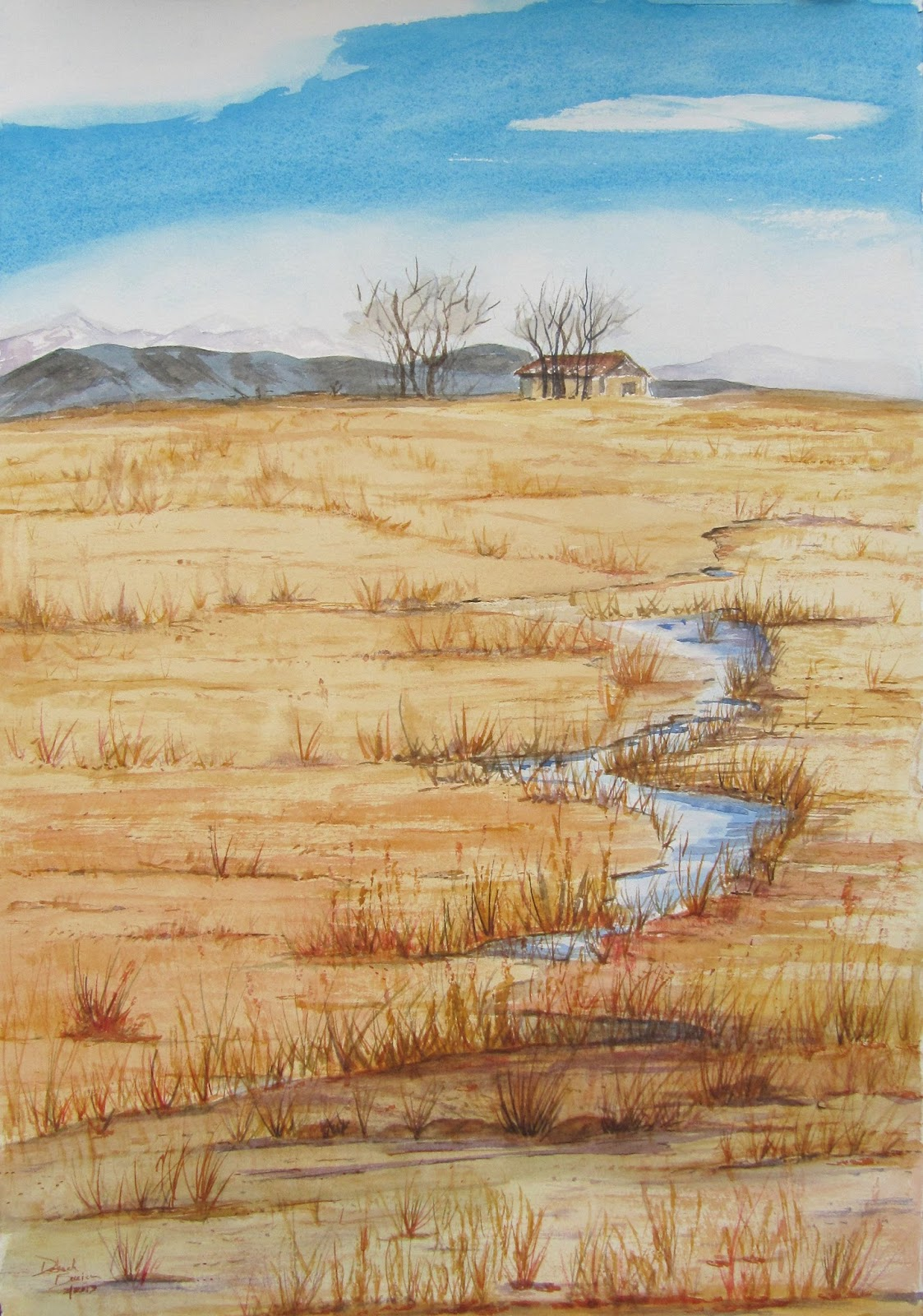 Historic Paths: 24 Works on Paper Artist Deborah Burian
