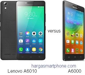Harga dan Perbedaan Lenovo A6010 dengan A6000