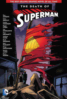 Cover of The Death of Superman Graphic Novel
