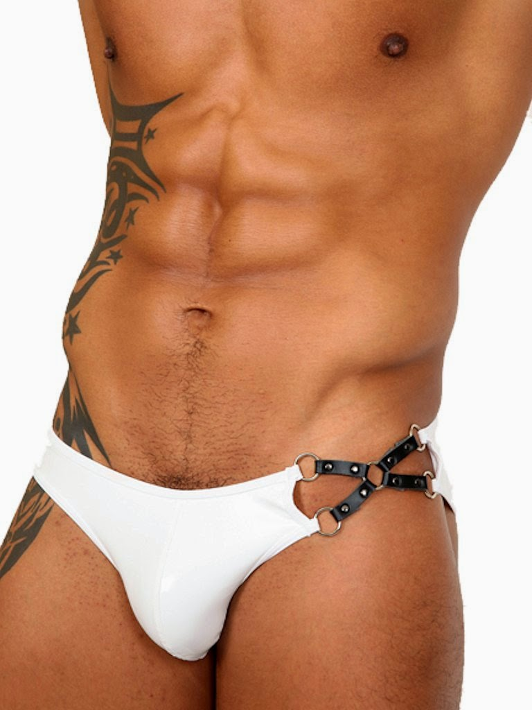 Pistol Pete Master Brief Mens Underwear White Gayrado