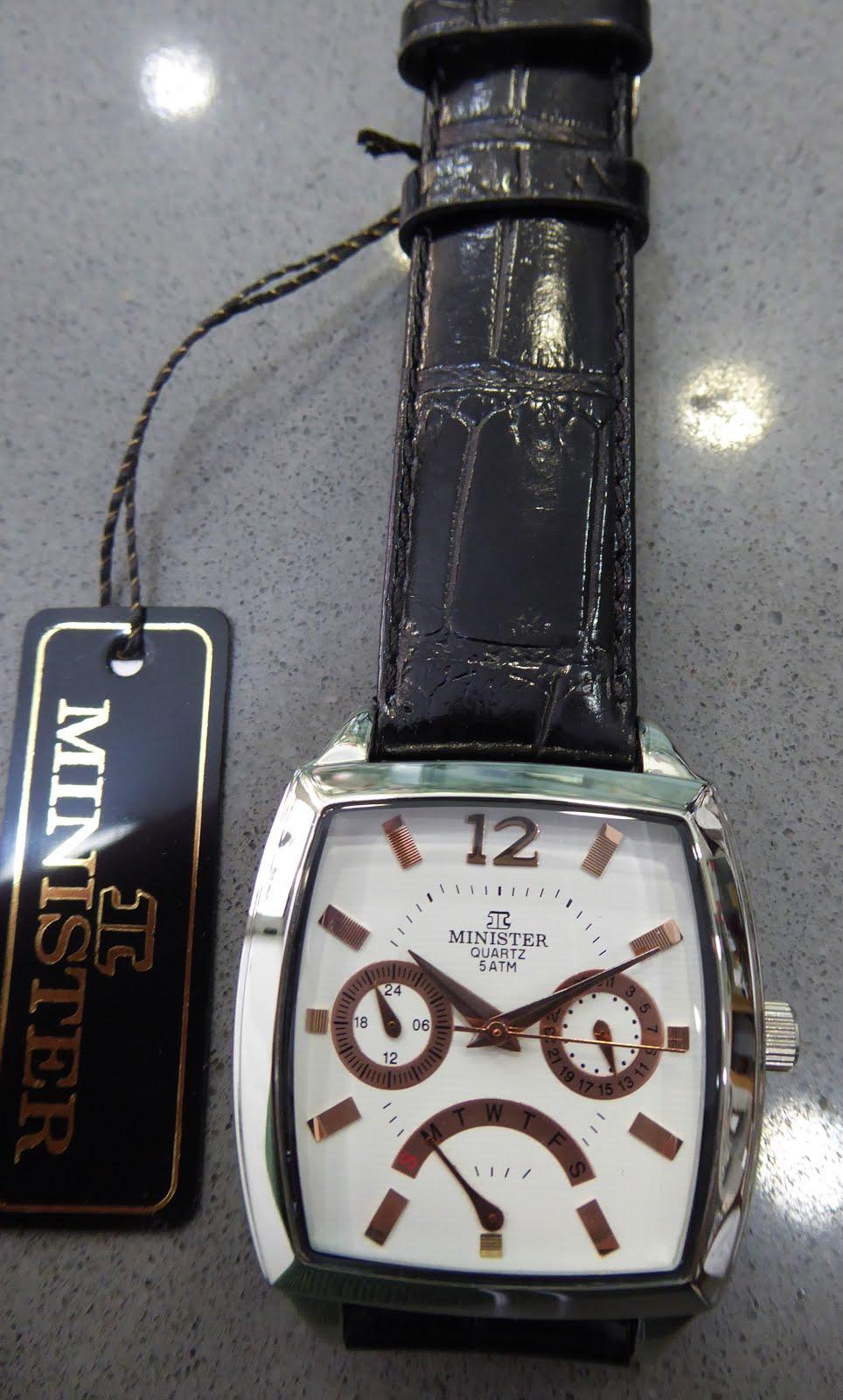 Elegante reloj caballero Minister