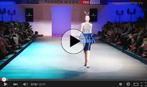 Sebastian Gunawan's Mod Muse 2014 at FIDe Fashion Week 2013