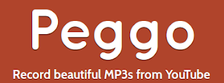 Peggo download MP3 YouTube video