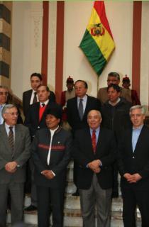 Detrás de una demanda boliviana