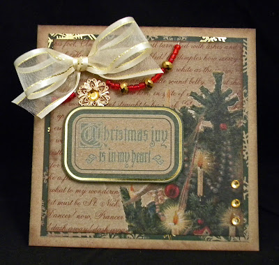 Scrapn Surprise Traditional Christmas Cards From DCWV
